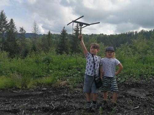 Dzieciaki na wilczym tropie / Childrens on the wolf track