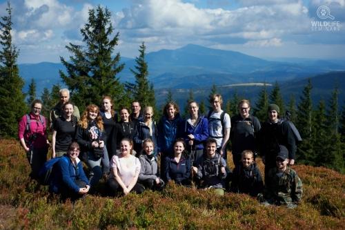 International Wolf, Lynx and Bear tracking workshop